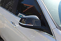 BMW X1 Накладки на зеркала 2 шт натуральный карбон