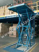 Подъемник гидравлический ножничного типа(подъемный стол) 500кг\1200(h)мм