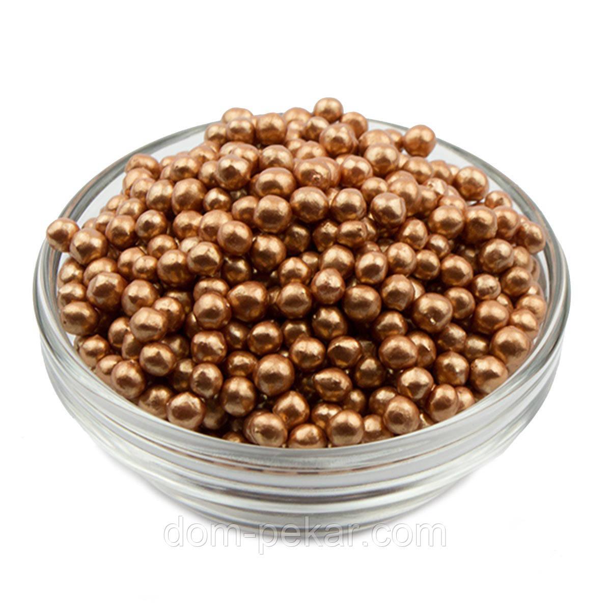 Рисовые шарики глазированные Бронза (100 гр.)
