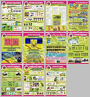 Комплект плакатов КЗУ-03 в кабінет ЗАЩИТА УКРАИНЫ