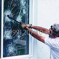 Бронирование стёкол 115мкм Safety 4 mil (1.524)