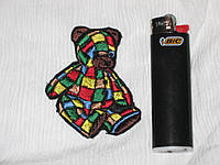 Брошь, патч, нашивка для декора /Медвежонок