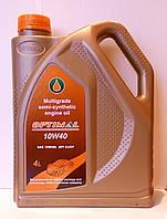 Масло моторное  полусинтетическое OPTIMAL 10W40 API SJ/СF 4л