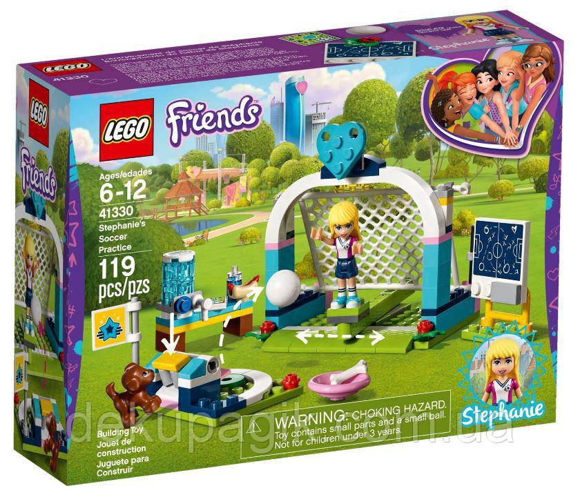 Lego Friends Футбольная тренировка Стефани 41330