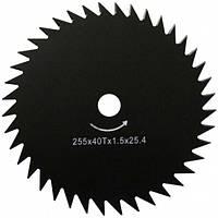 X-Treme 255х25.4х1.6 мм Нож для мотокосы 40-зубый