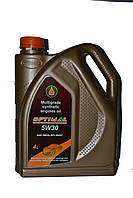 Масло синтетическое OPTIMAL 5W30, 4л