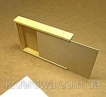 Пенал деревянный 25х34х5 (А4)