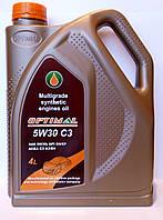 Масло синтетическое OPTIMAL 5W30 С3, 4л