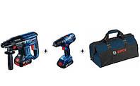 Набор перфоратор Bosch GBH 180-LI + шуруповерт GSR 180-LI по специальной цене!
