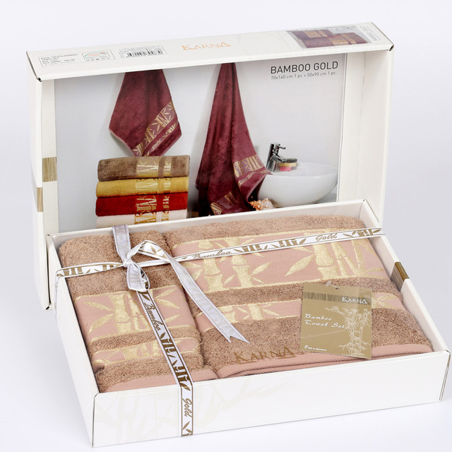 Полотенца в подарочной коробке