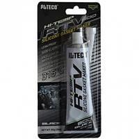 Alteco Клей - герметик силиконовый черный 85гр