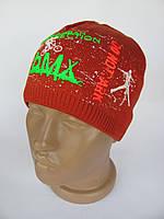 Детская шапка BMX (Красный)