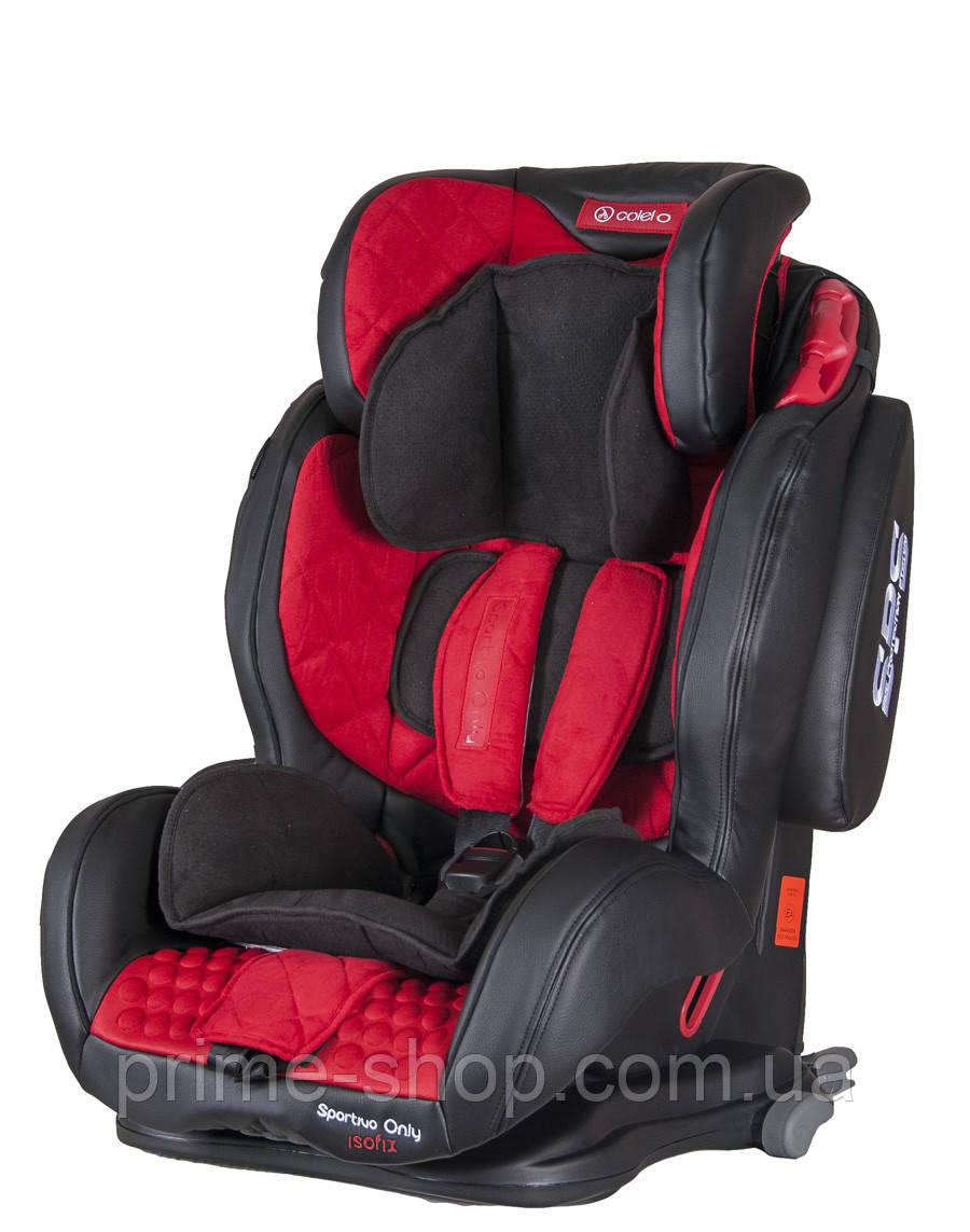 Автокресло COLETTO Sportivo ONLY ISOFIX 9-36 red