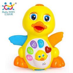 "Игрушка Huile Toys ""Желтый утенок"" (808)"