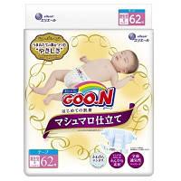 Goo.N. Подгузники GOO.N SUPER PREMIUM MARSHMALLOW д/новорожд. до 5 кг., 62 шт (853346)