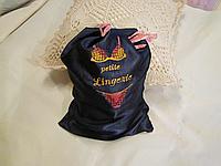 Мешочек для хранения белья с вышивкой, подарок