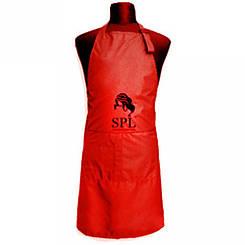 Фартук односторонний SPL, Medium красный