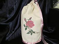 Органайзер для белья Роза, вышивка крестик, подарок