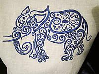 Органайзер Слон с вышивкой