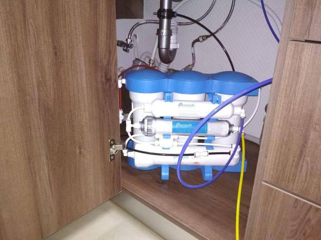 """Очередная система Ecosoft Aquacalcium в офис наших партнеров """"RedBull"""" 15"""