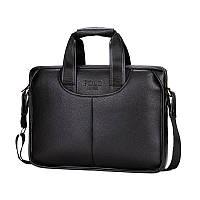 Мужская сумка-портфель POLO 16505 Черная