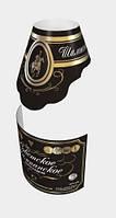 Самоклеющаяся этикетка на шампанское