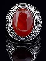 Мужское кольцо с сердоликом