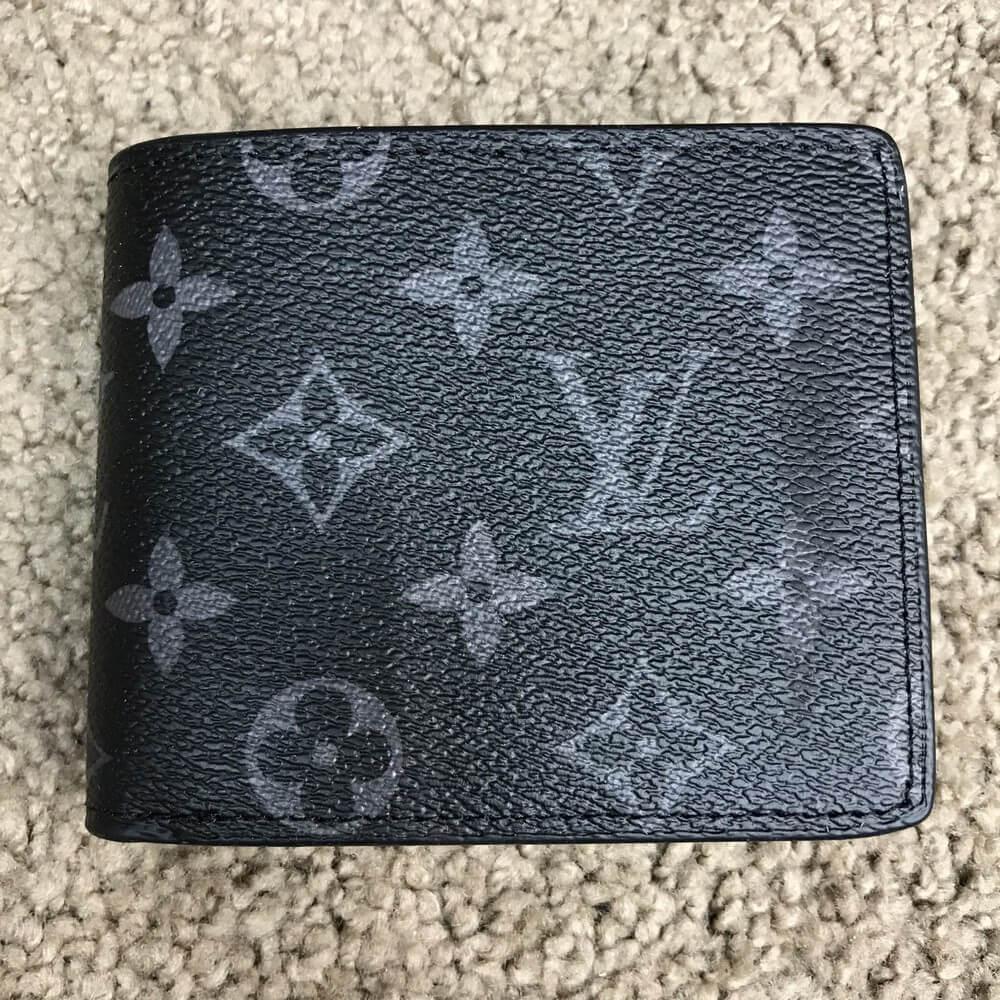 9c64c894c56d Мужской кошелек Louis Vuitton Wallet Florin Monogram Eclipse, Копия ...