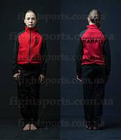 Детский спортивный костюм Киокушинкай (красный)
