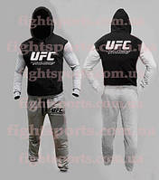 Спортивный костюм UFC BLACK-GRAY