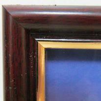 "Фоторамка А4, 21*30 см, №15-7063, ""Вишня № 3"", пластик/стекло, Josef Otten, 557578"