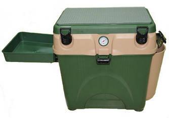 Ящик для зимней рыбалки А-Єлита зелёный