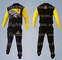 Спортивный костюм UFC REEBOK YELLOW Pro