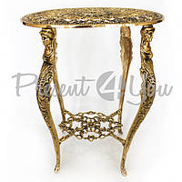 Стол «Романтика» Virtus,Испания, бронза, h-56х45х31 см (8204)