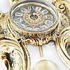 Часы настенные «Роза» Virtus ,Испания, бронза, 49,5х25 см (5418), фото 2
