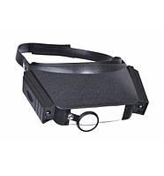 Налобные очки с подсветкой на 8X