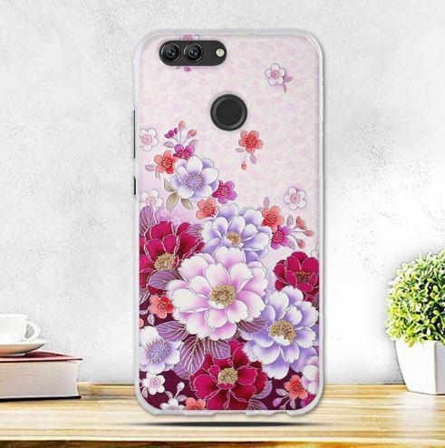 Оригінальний чохол накладка для Huawei Nova 2 з картинкою Квіти