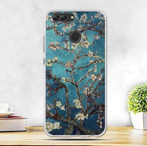 Оригинальный чехол накладка для Huawei Nova 2 с картинкой Цвет миндаля