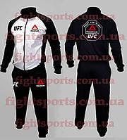 Спортивный костюм UFC REEBOK WHITE (без капюшона)