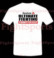 Футболка UFC REEBOK  WHITE xl