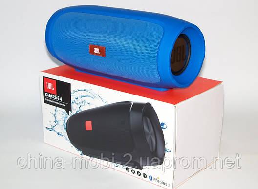 Беспроводная колонка JBL Charge 4 16W MP3/FM/Bluetooth/USB/microSD реплика, BLUE, фото 2