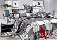 Комплект постельного белья с компаньоном S058 двуспальный (TAG satin-058/д)