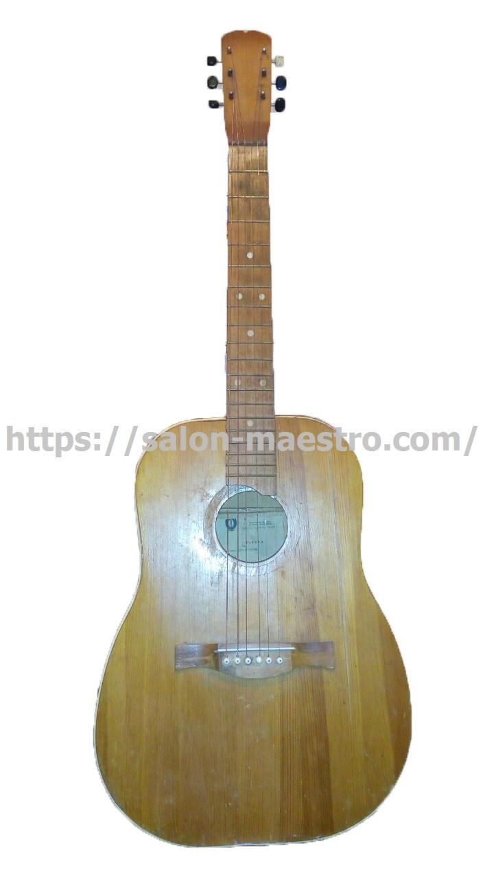 ( 01\1943 ) Редчайшая Черниговская Гитара с Полномерной Декой
