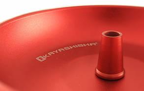 Кальян KAYA Clear Shiny ELOX 630CE Wave Red 4S высота 72 см на 2 персоны, фото 2