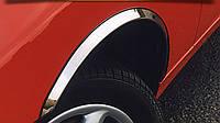 Audi A4 2004-2008 Накладки на арки (4 шт, нерж)