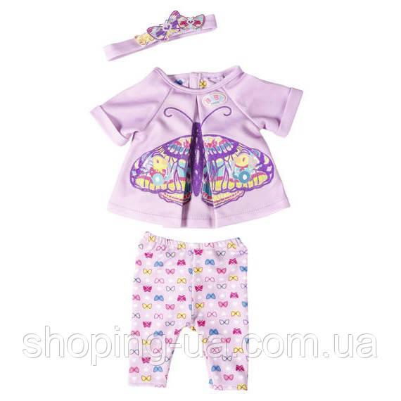 Набор одежды Бабочка для куклы Baby Born Zapf Creation 823545, фото 1