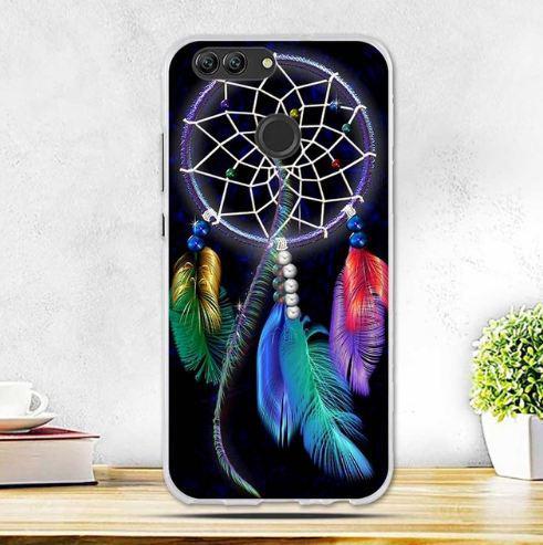 Силиконовый чехол бампер для Huawei Nova 2 с картинкой Ловец снов