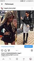 Черная женская куртка,косуха реплика ЗАРА(ZARA)