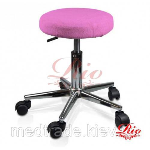 Чохол на стілець рожевий