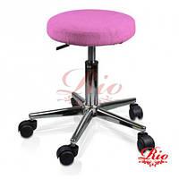 Чехол на стул розовый, фото 1